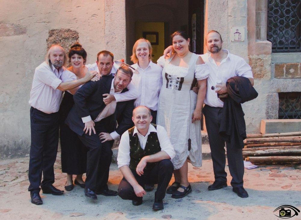 Alchymisté na Lokti / večerní dobrodružství s Pouličním divadlem Viktora Braunreitera