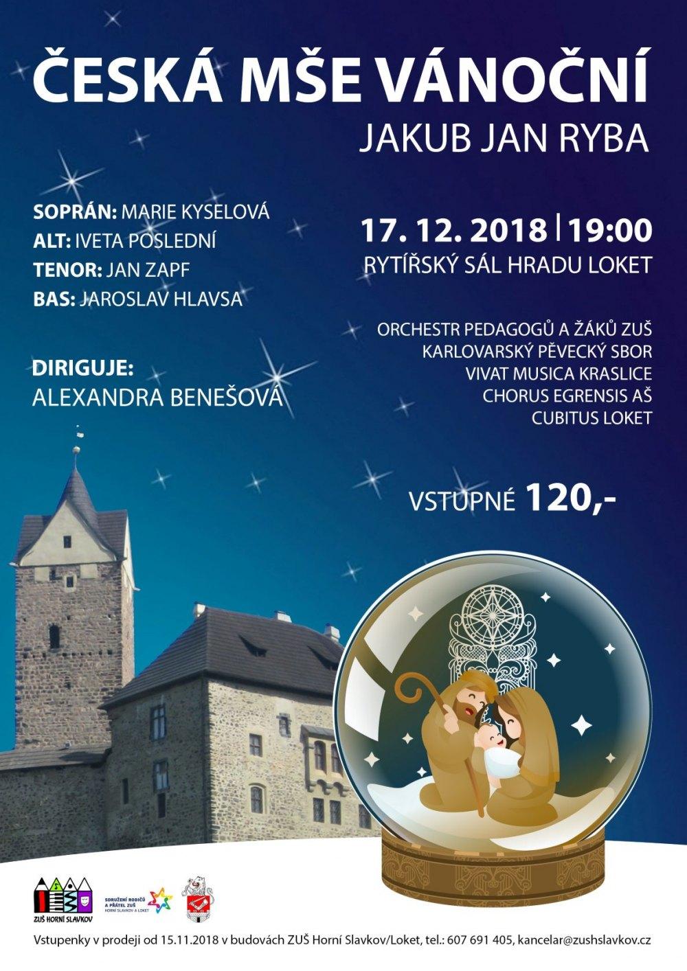 Česká mše vánoční Jakub Jan Ryba